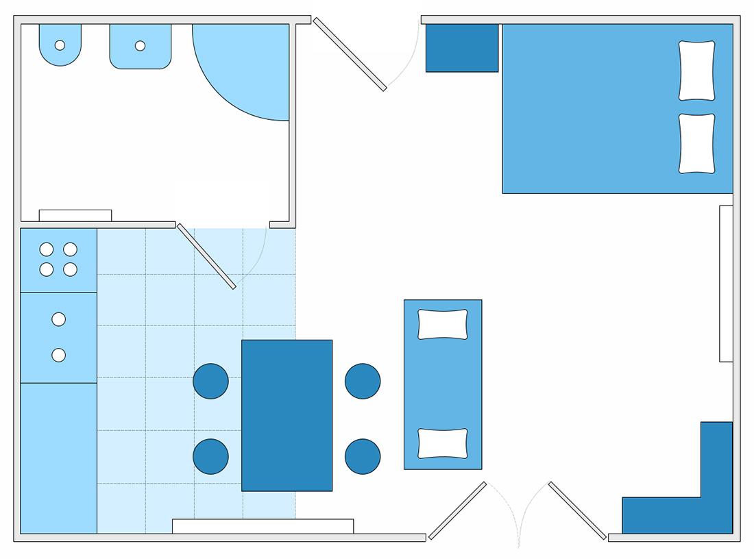 Plan apartamentu